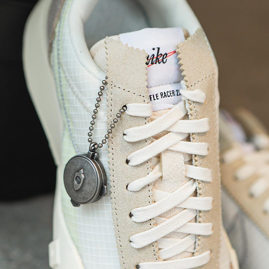Nike Waffle Racer Lux beige blanc cassé (3)