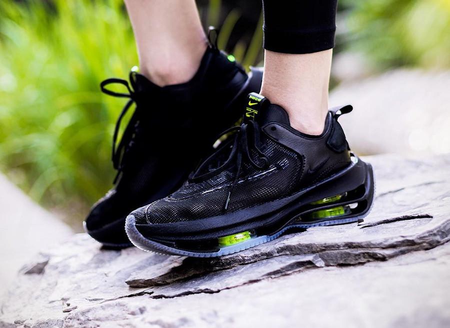 Nike Zoom Double Stacked noire et vert fluo CI0804-001 (4)