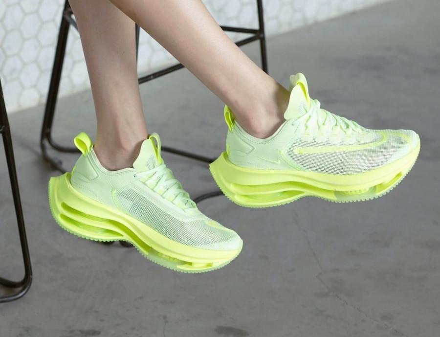 Nike Zoom Double Stacked vert et jaune fluo CI0804-700 (4)