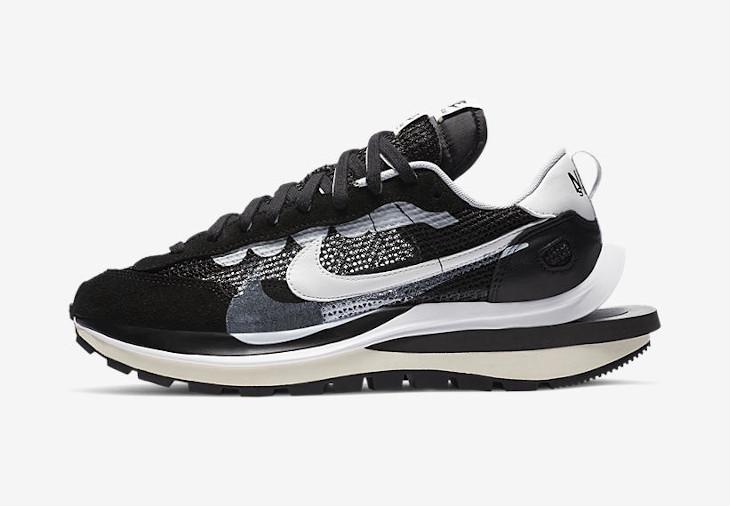 Nike x sacai VaporWaffle Black White