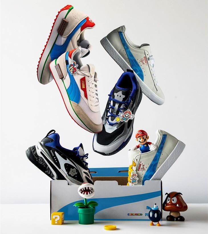 Nintendo x Puma Super Mario 3D All-Stars