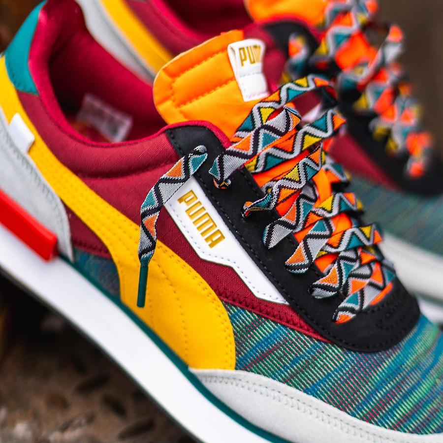 Puma Future Rider Mix 2020 multicolore (style africain) (6)