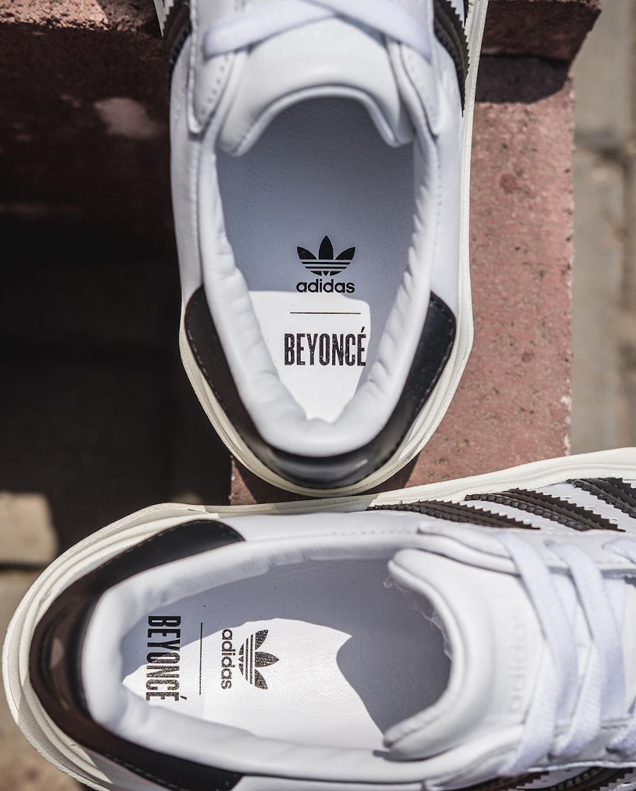 Queen B x Adidas Superstar grosse semelle (2)