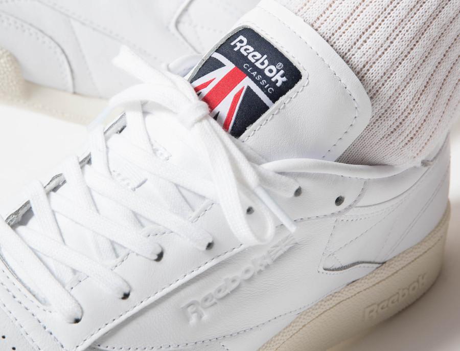 Reebok-Club-C-85-blanche-avec-le-drapeau-du-Royaume-Uni-1