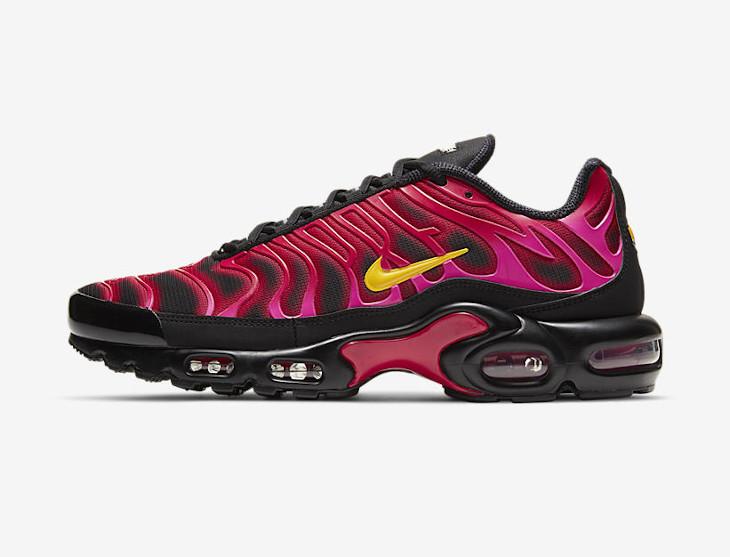 Supreme x Nike Air Max Plus Fire Pink