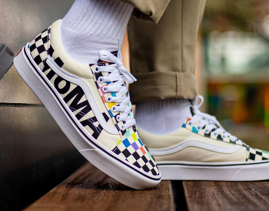 Vans Old Skool Moma Checkerboard Multicolor VN0A3WMA1PJ (2)