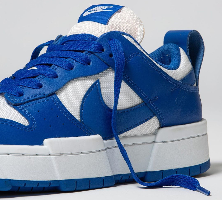 Women's Nike Dunk Low Disrupt bleu et blanche CK6654 100 (1)