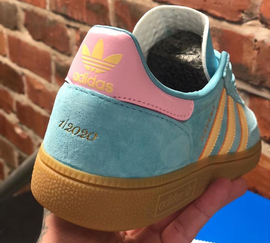 Adidas La Havane turquoise jaune et rose (4)