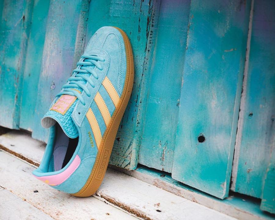Adidas La Havane turquoise jaune et rose (5)