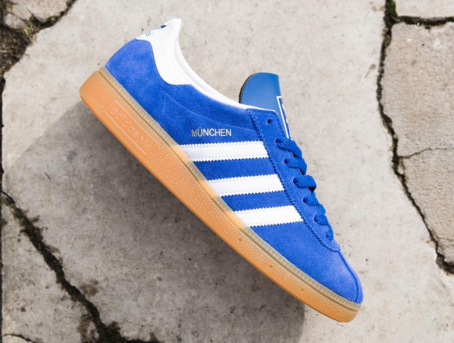 Adidas München '20 en suède bleu violet (1)