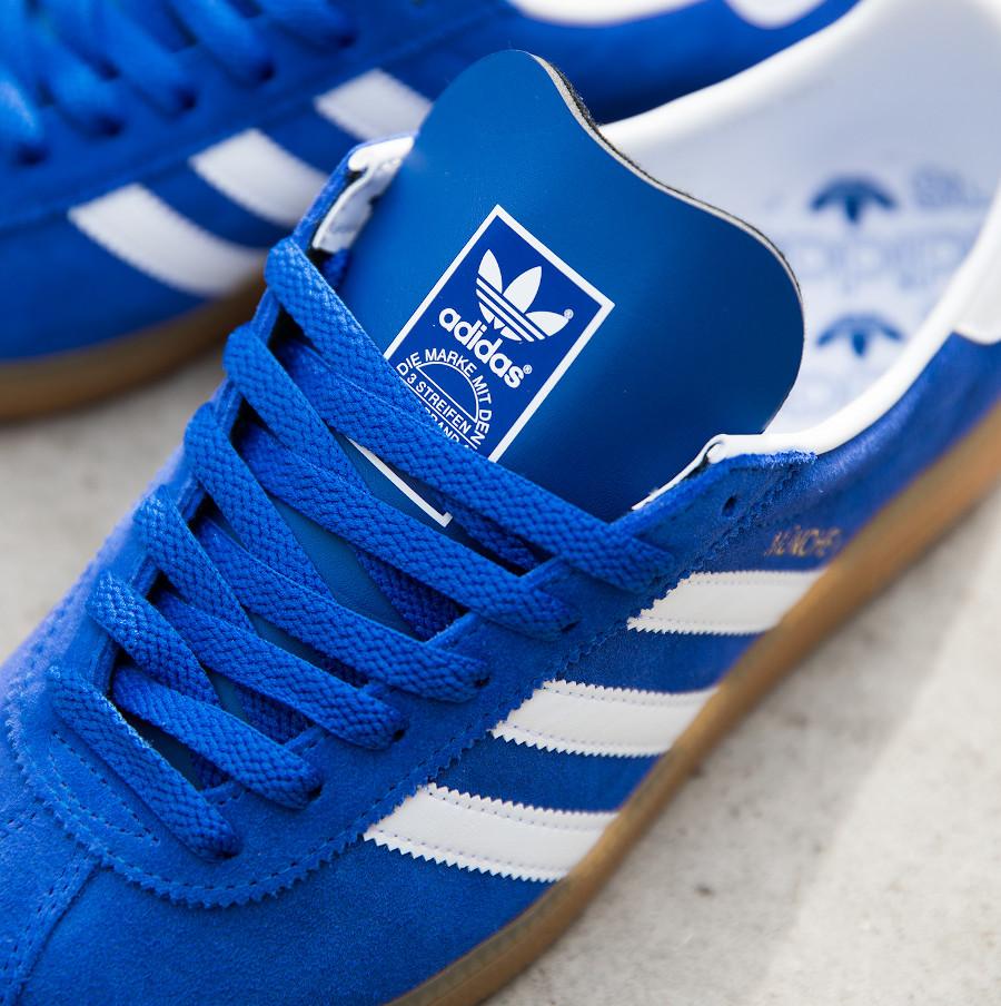 Adidas München '20 en suède bleu violet (2)