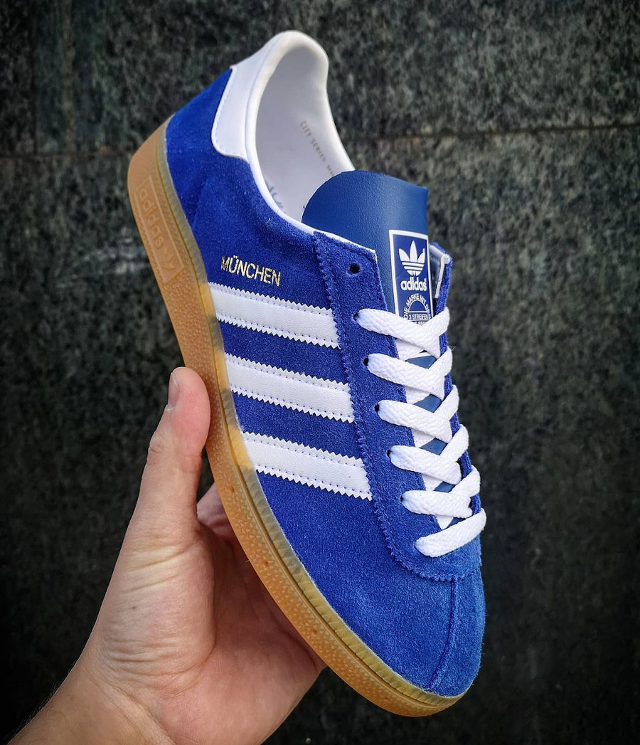 Adidas Munchen City Series 2020 Royal Blue FV1190