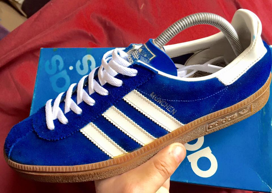 Adidas Munchen vintage made in Japan (1981)