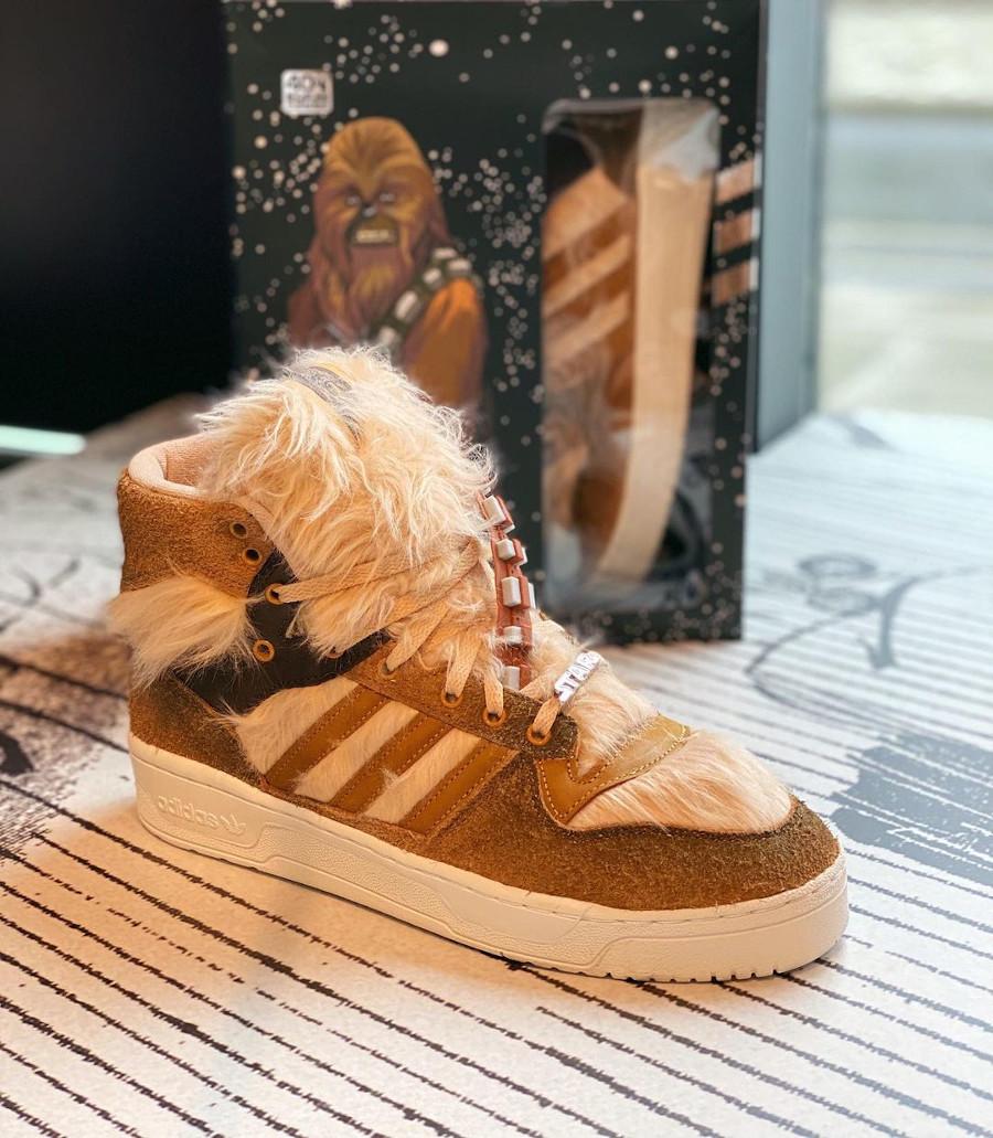 Adidas Rivalry Hi Star Wars Chewbacca FX9290