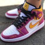 Air Jordan 1 Mid 'Para Mi Familia' Día de Muertos 2020