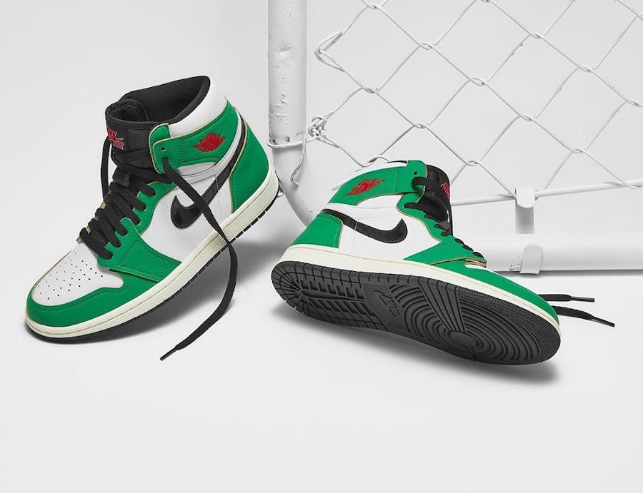 Air Jordan 1 Wmns High OG 'Lucky Green' Boston Celtics DB4612-300