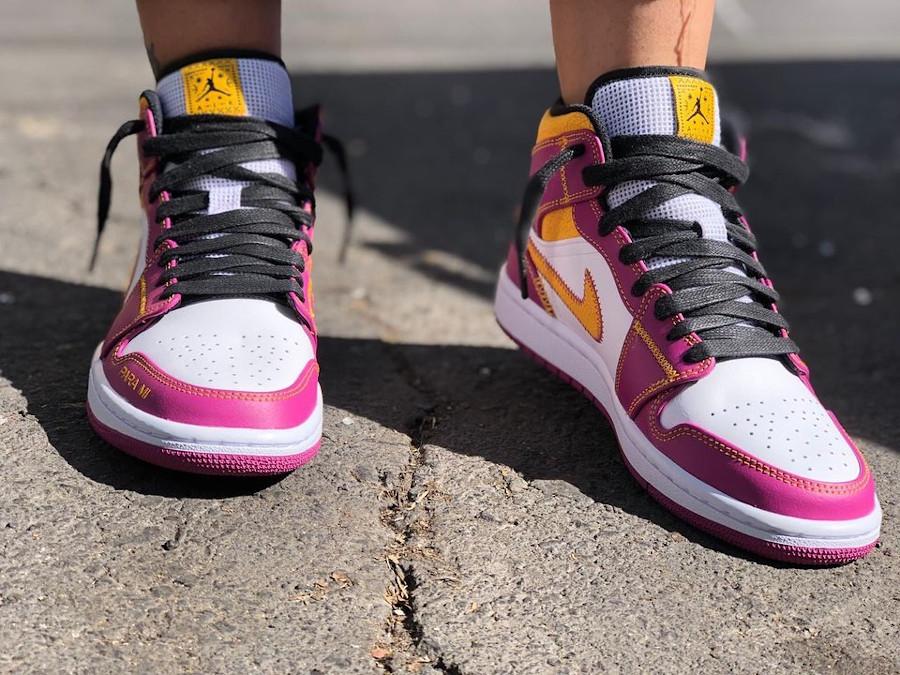 Air Jordan 1 mi-montante jour des morts (1)