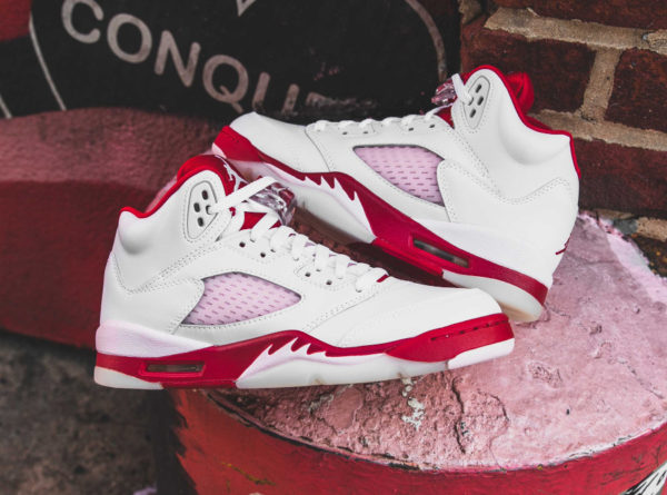 Air Jordan 5 Retro GS Pink Foam 440892-106