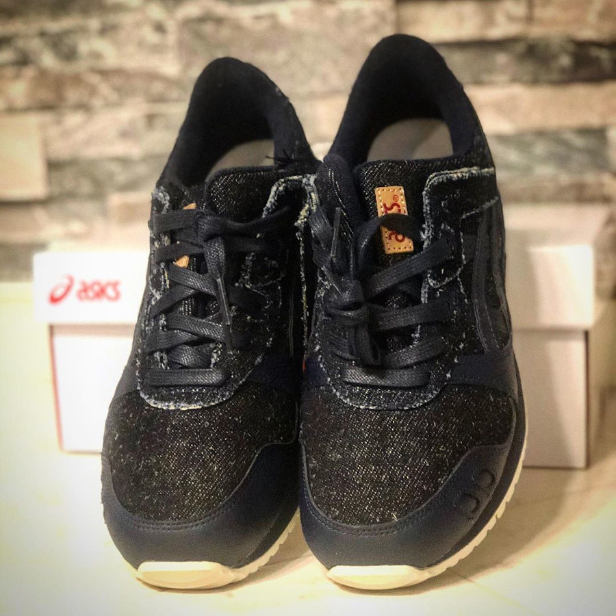 Asics Gel Lyte III en jeans japonais noir (2)