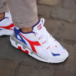 Diadora Mythos Suede 'White Red Blue'
