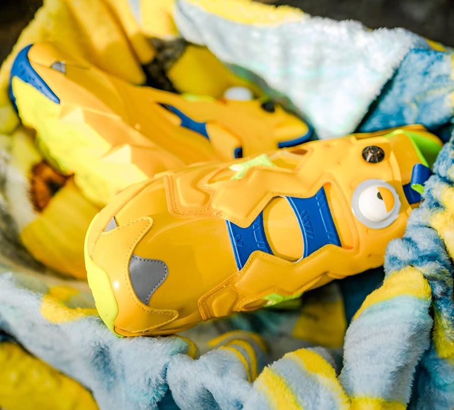 Les Mignons x Reebok Insta Pump Fury 2020 jaune (1)
