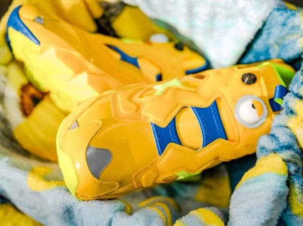 Les Mignons x Reebok Insta Pump Fury 2020 jaune (couv)