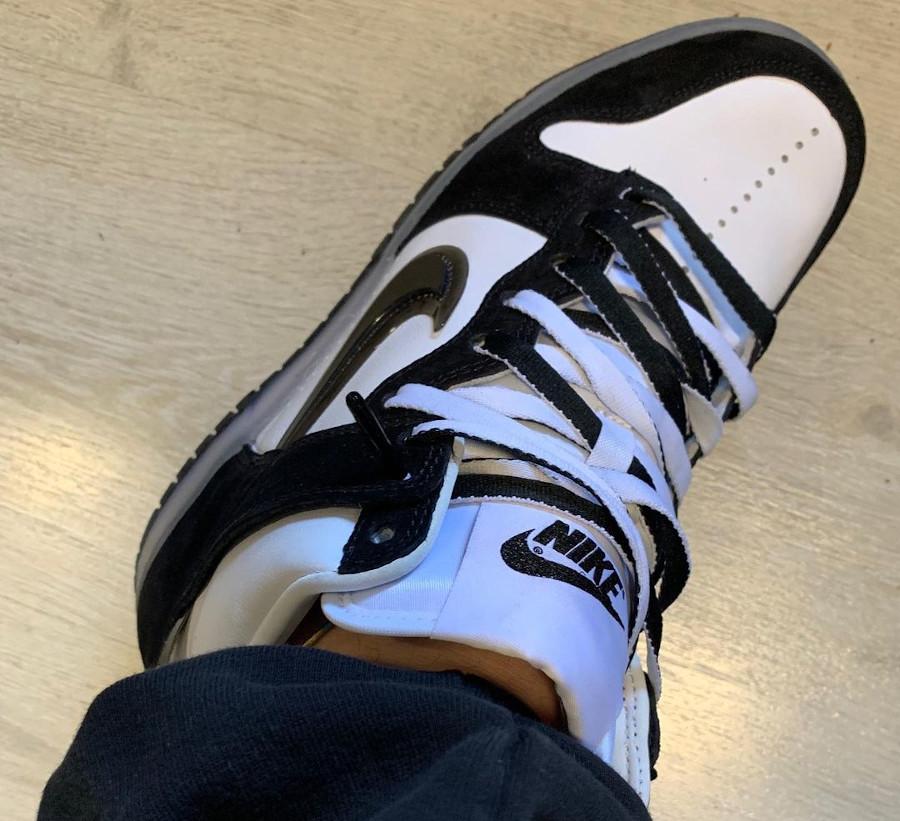 Luca Benini x Nike Dunk Hi en nubuck noir (2)