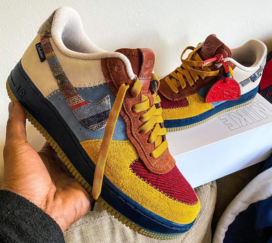 Nike AF1 By You Pendleton 2020 - @aimz80