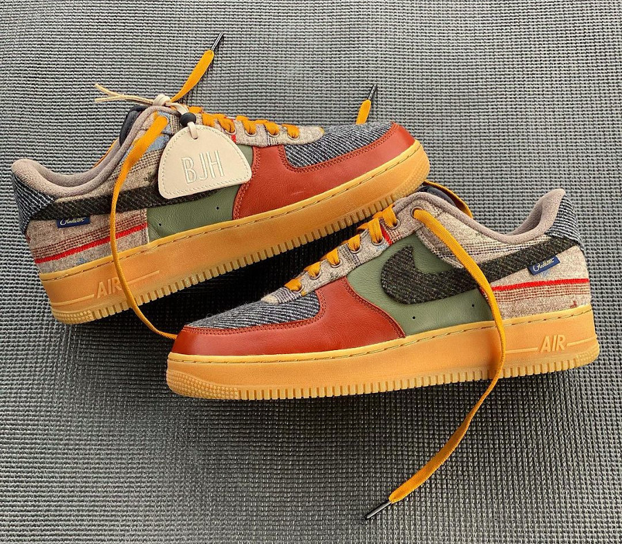 Nike AF1 By You Pendleton 2020 - @coach13holly