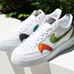 Nike Air Force 1 '07 LV8 'White Multicolor' (Misplaced Swoosh)