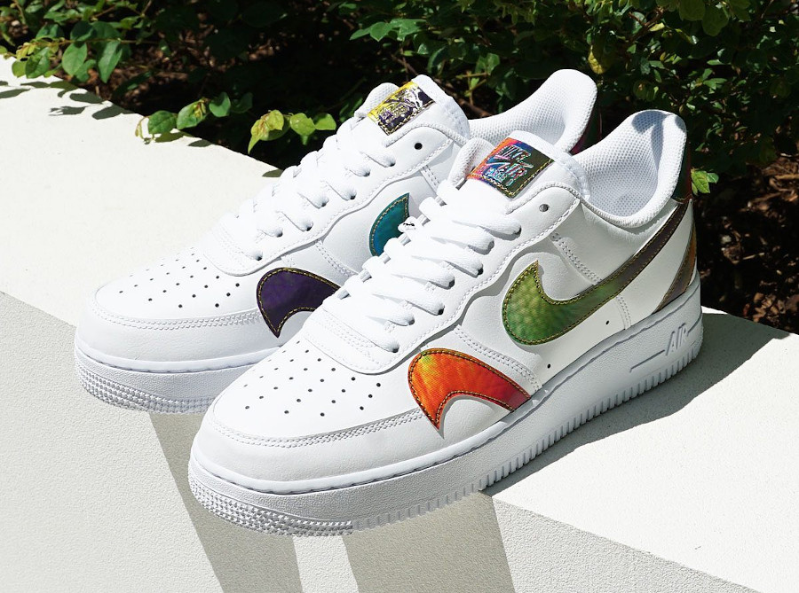 Nike Air Force 1 '07 Misplaced Swoosh White Multi CK7214-101