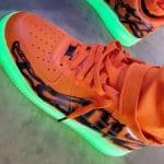 Nike Air Force 1 '07 'Halloween 2020' Orange Skeleton