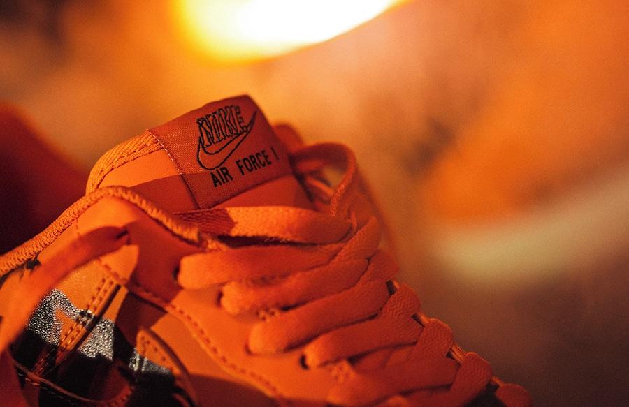 Nike Air Force 1 Citrouille Skeletal Force (2)