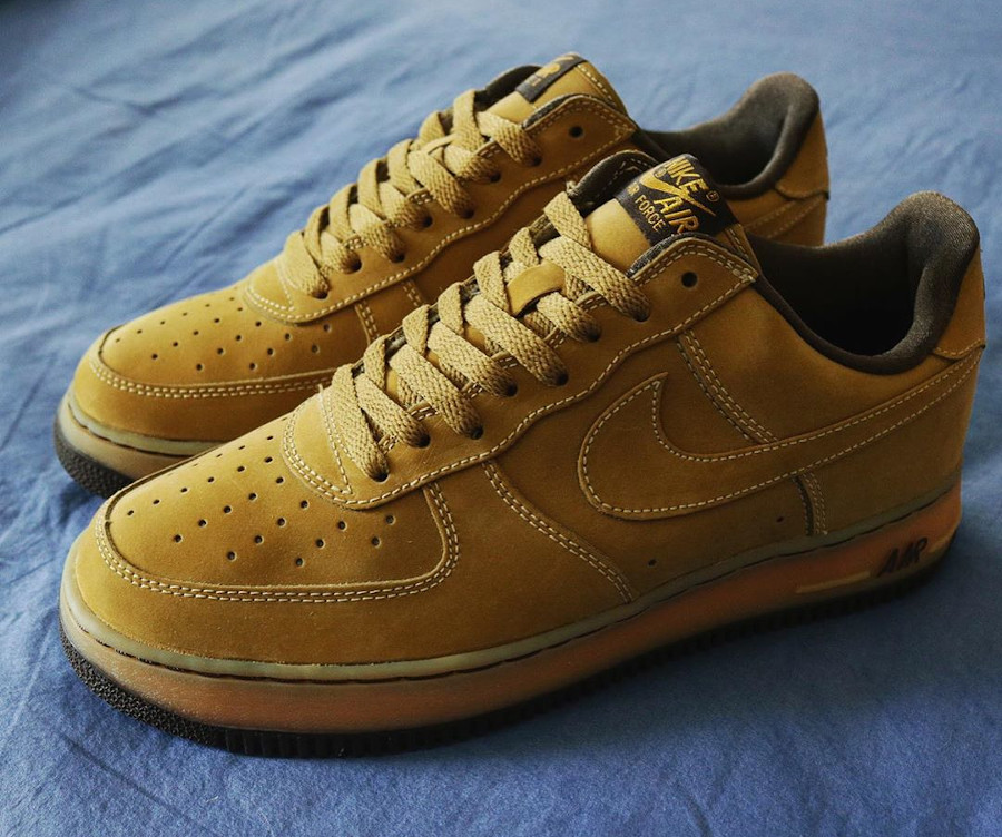 Nike Air Force 1 Wheat Dark Mocha Ble Noica 2001 vintage (2)