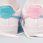 Nike Wmns Air Force 1 LXX Vandalized 'Bleached Aqua Pink Rise'