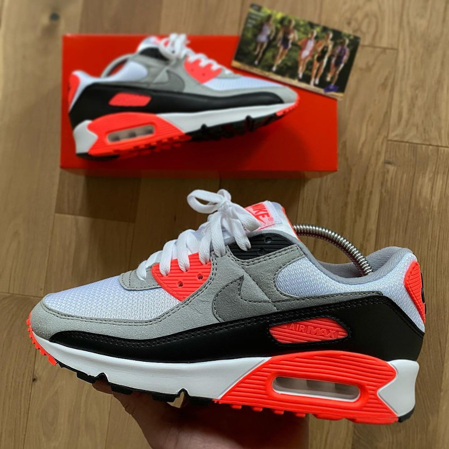 Nike Air Max 3 90 OG Recraft Infrared 2020 CT1685-100