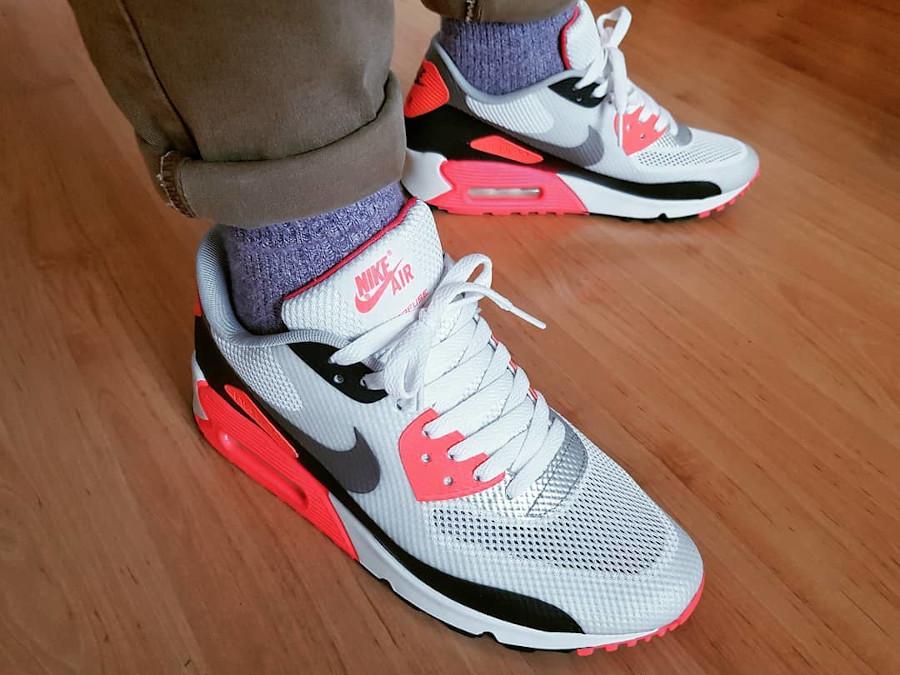 Nike Air Max 90 Hyperfuse Infrared - @papapanov