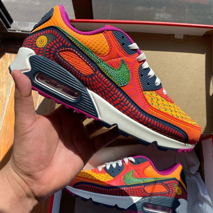 Nike Air Max 90 QS multicolore jour des morts (1)