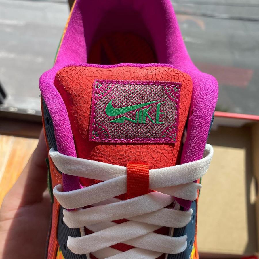 Nike Air Max 90 QS multicolore jour des morts (4)
