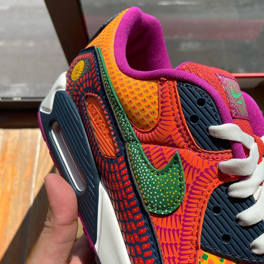 Nike Air Max 90 QS multicolore jour des morts (6)