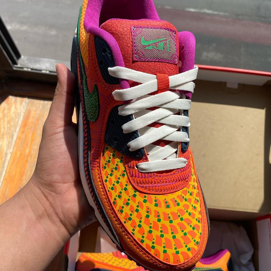 Nike Air Max 90 QS multicolore jour des morts (7)