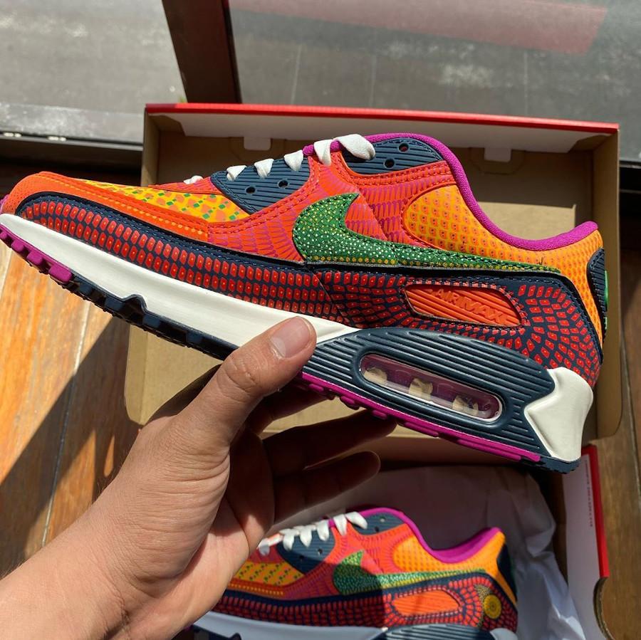 Nike Air Max 90 QS multicolore jour des morts (8)