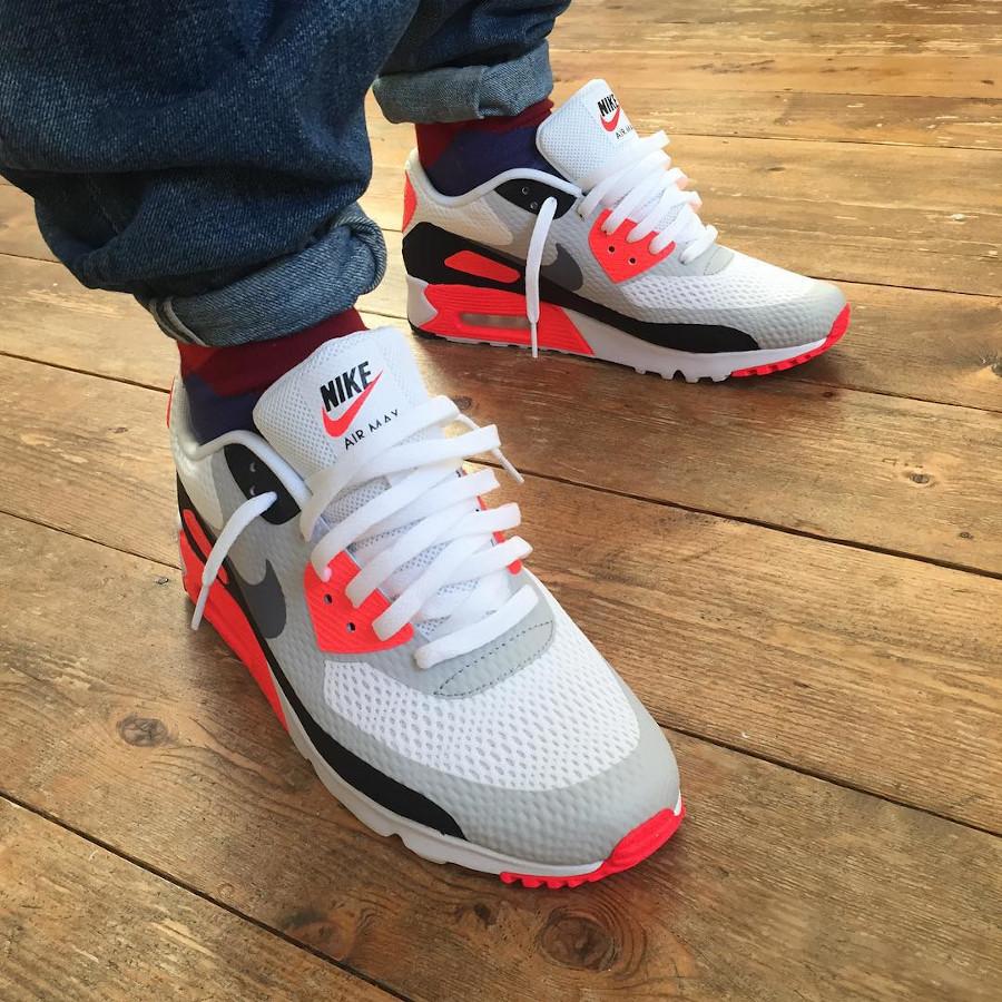 Nike Air Max 90 Ultra Essential Infrared - @kishkash1