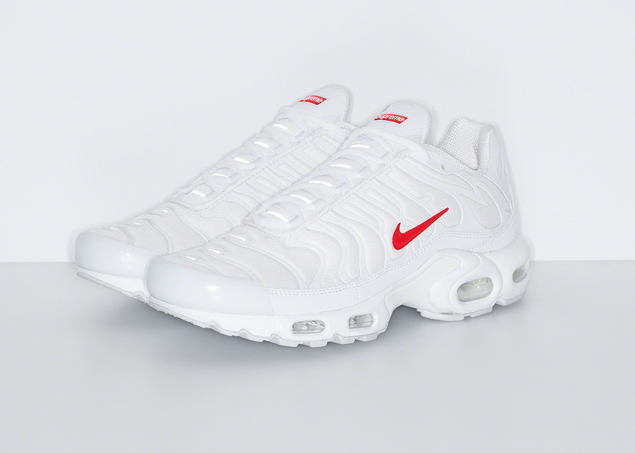 Nike Air Max Tuned 1 World Famous blanche et rouge (1)