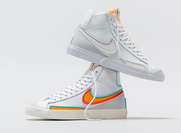Nike Blazer Mid '77 Infinite White Kumquat DA7233