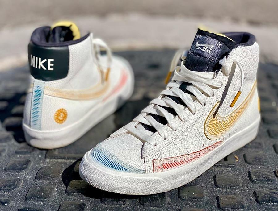 Nike Blazer mi-montante Para Mi Familia (7)