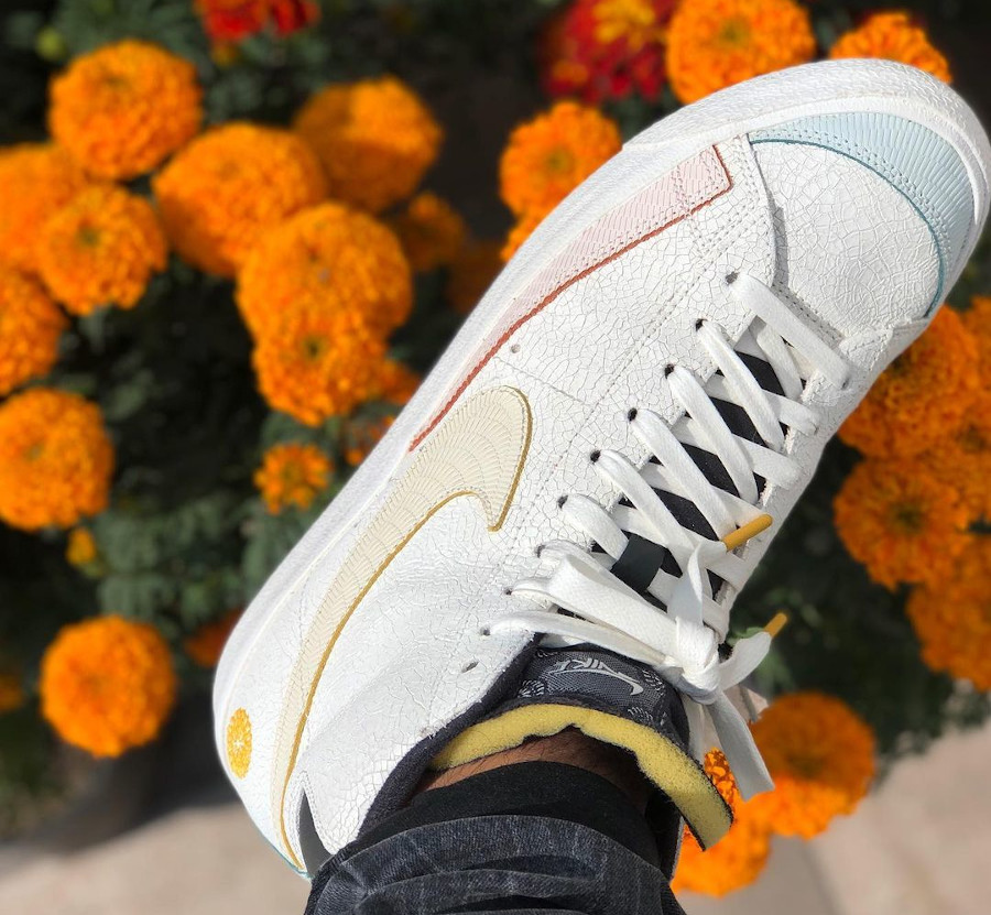 Nike Blazer mi-montante Para Mi Familia on feet (1)