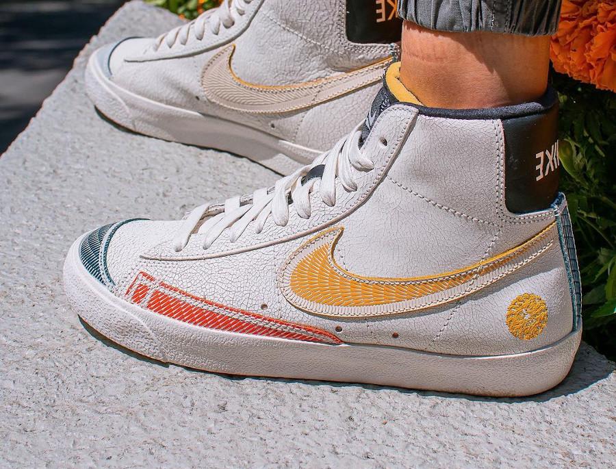 Nike Blazer mi-montante Para Mi Familia on feet (3)