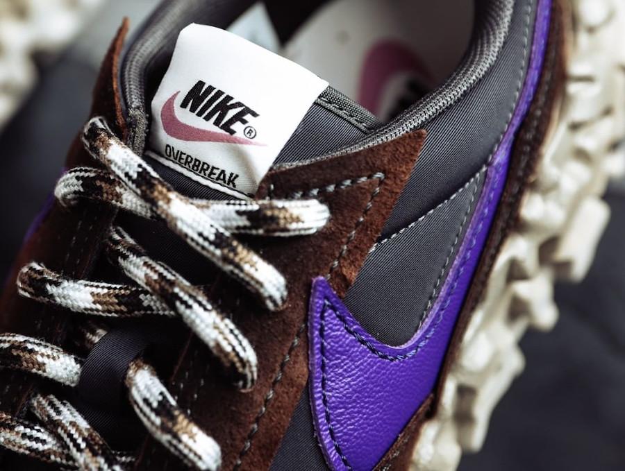 Nike Daybreak Over React marron noir et violet (1)