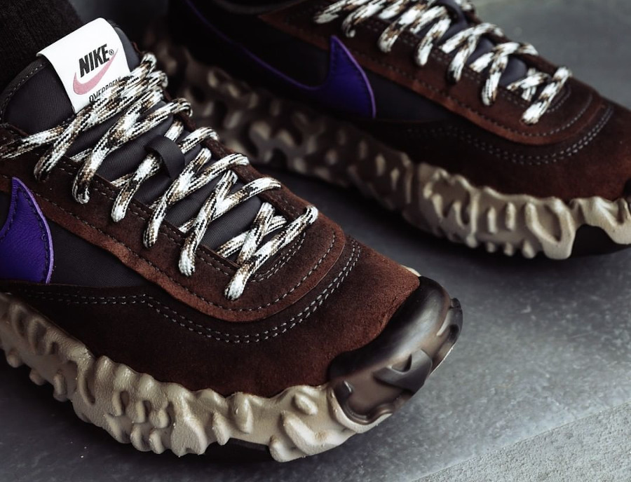 Nike Daybreak Over React marron noir et violet (6)